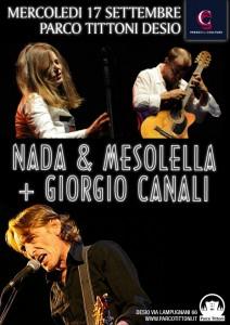 Nada, Mesolella e Giorgio Canali