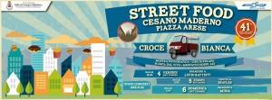 street food cesano piazza 4 settembre