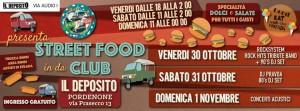 street food il deposito 30 ottobre