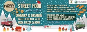 street food piazza meda 13 dicembre