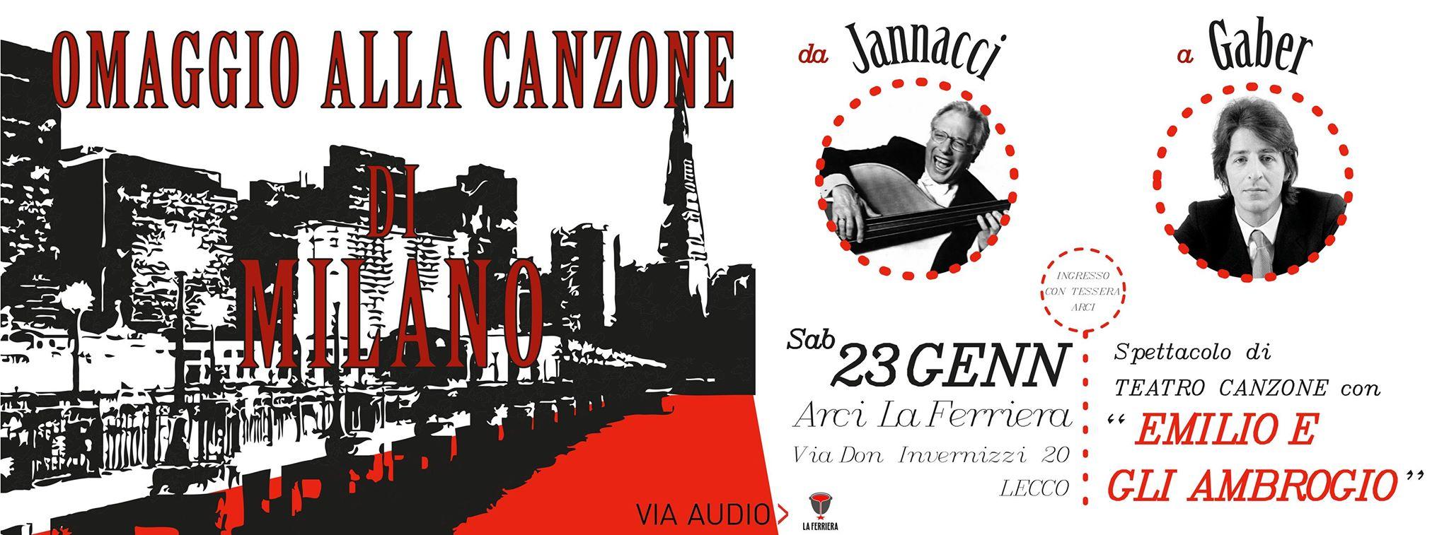 Omaggio alla canzone di Milano