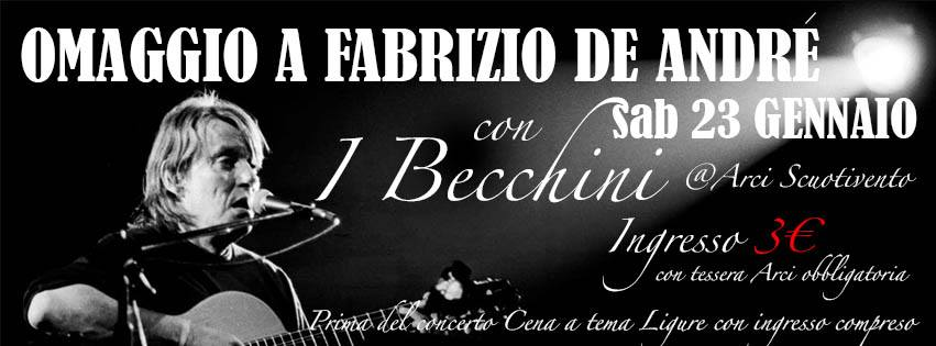 Omaggio a Fabrizio de Andrè