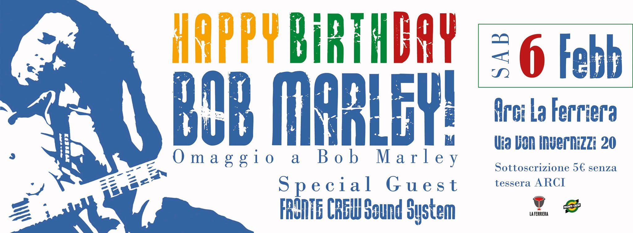 Omaggio a Bob Marley