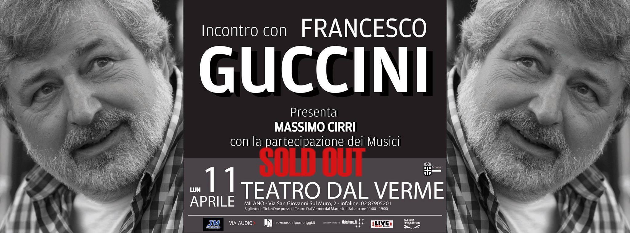 Incontro con Francesco Guccini