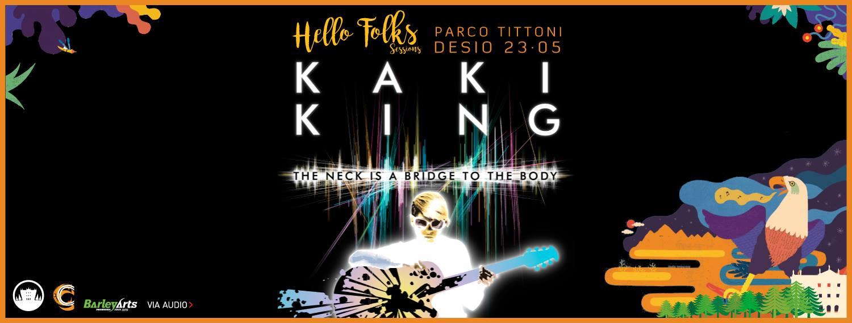 Kaki King - Parco Tittoni