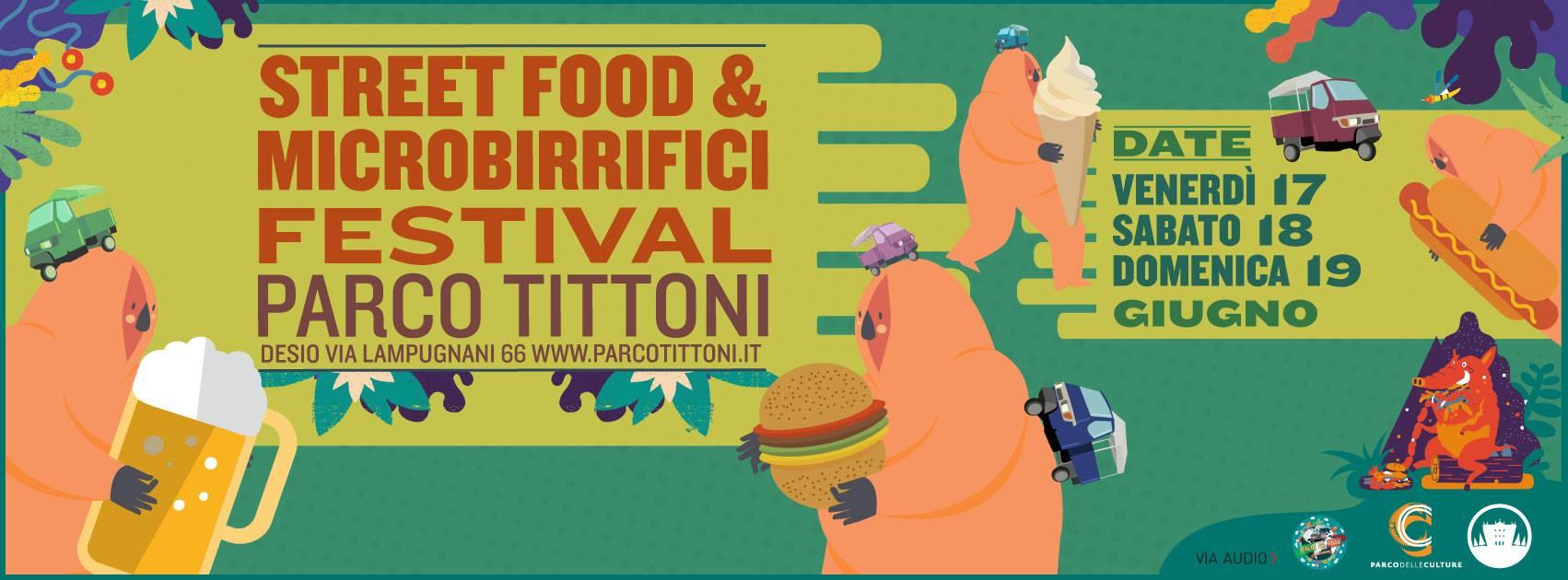 Street Food - Parco Tittoni