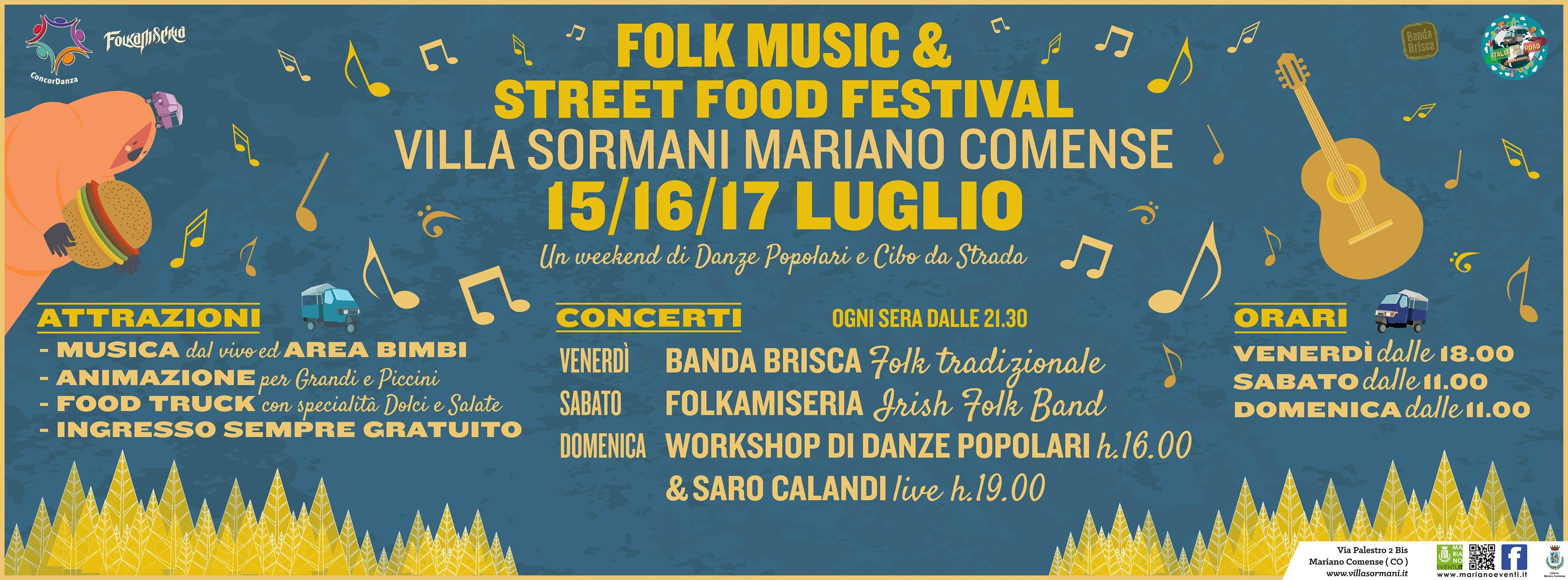 Folk Music & Street Food Festival