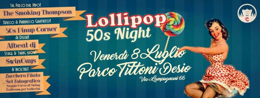 Lollipop 50s Night