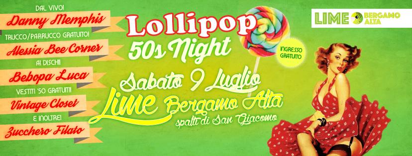 Lollipop 50s Party