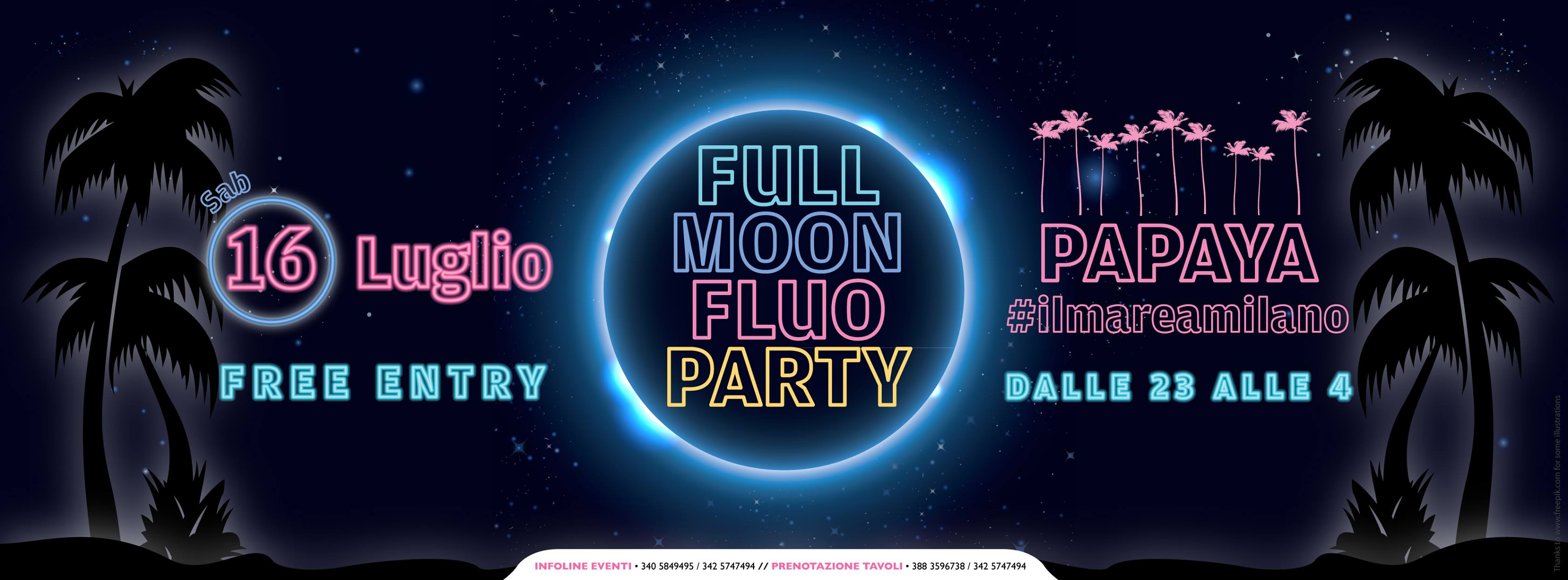 Full Moon Fluo Party