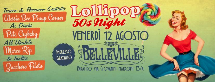 Lollipop 50s Night - Paratico