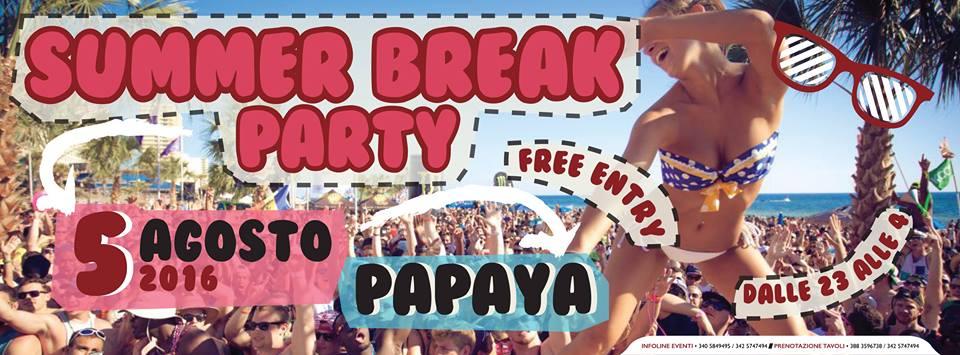 SummerBreakParty - Papaya