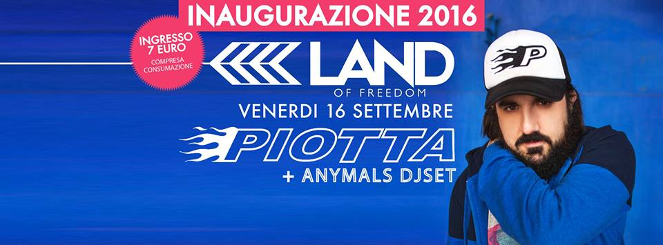 Piotta + Anymals DjSet | Land of Freedom