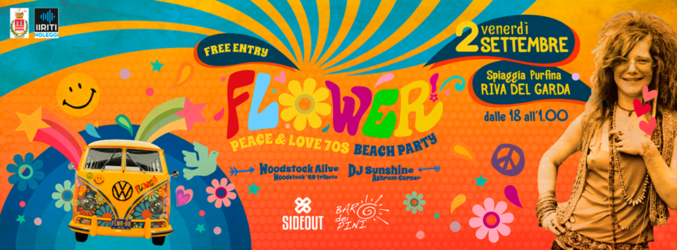 Flower 70s Party - Riva del Garda