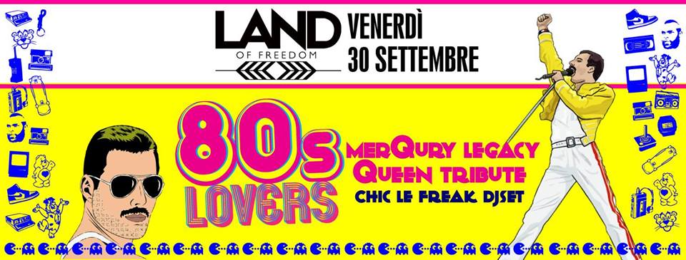 80s Lovers   Land Of Freedom
