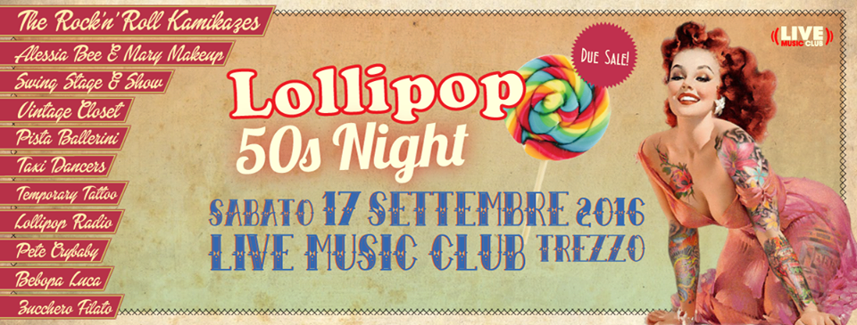 Lollipop 50s Night | Music Live Trezzo