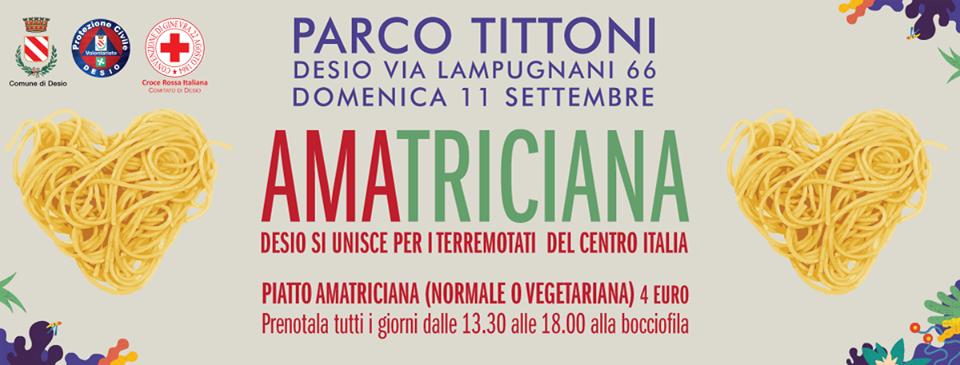 AMAtriciana | Parco Tittoni