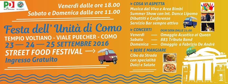 Festa dell'Unità & Street Food