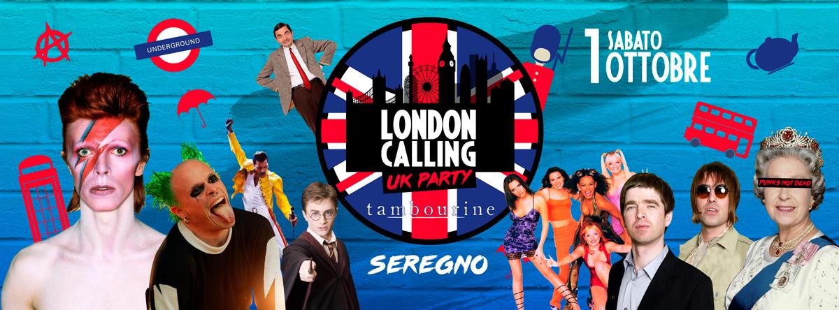London Calling | Tambourine