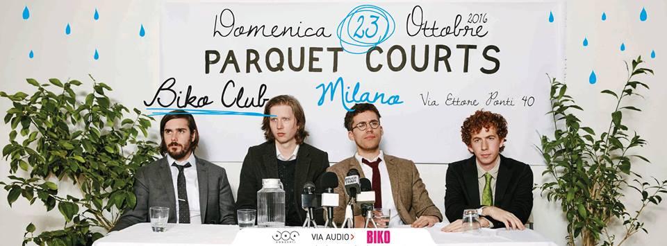 Parquet Courts in concerto