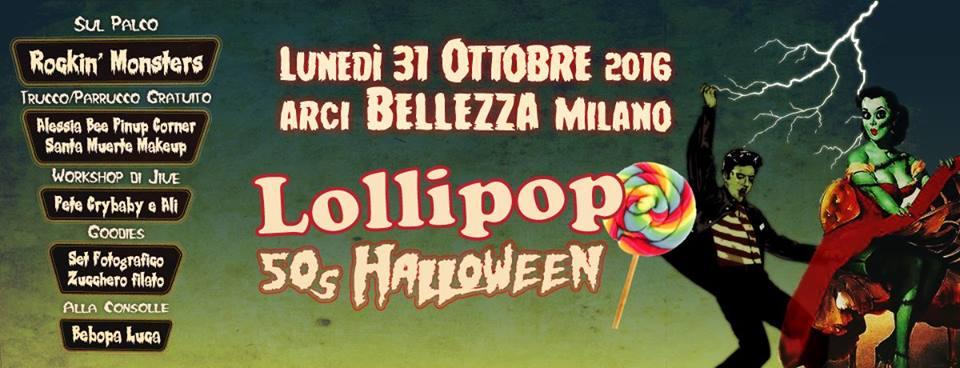 Lollipop 50s Halloween | Arci Bellezza