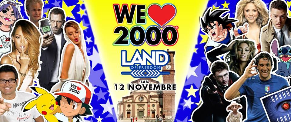 We Love 2000   Land of Freedom