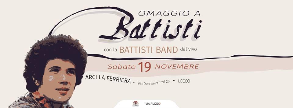 Omaggio a Lucio Battisti | Arci La Ferriera