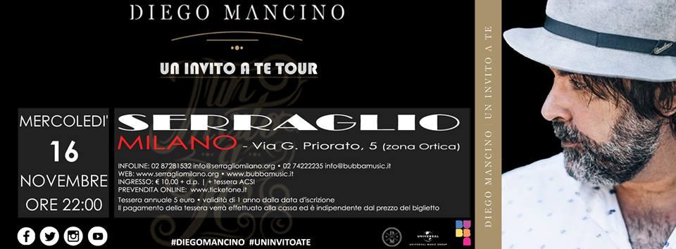 Diego Mancino | Serraglio Milano
