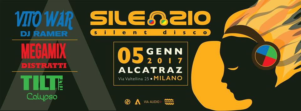 Silenzio! The Biggest Silent Disco in Milan!