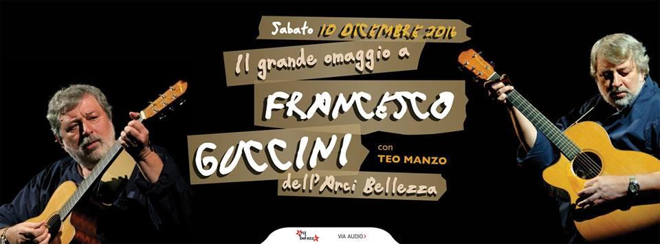 Omaggio a Francesco Guccini | Arci Bellezza
