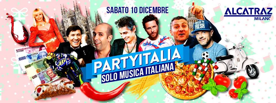 Party Italia | Alcatraz Milano