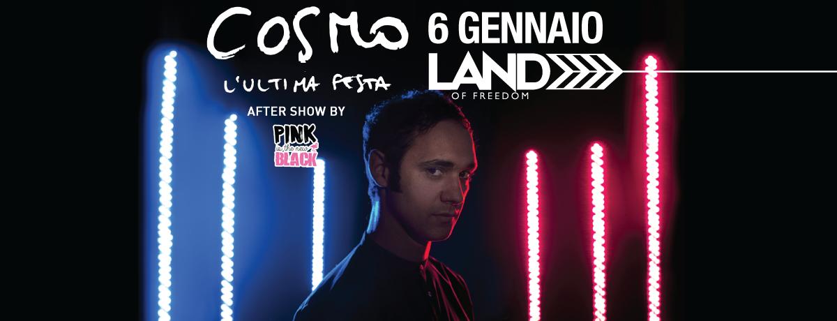 Cosmo Live al Land of Freedom di Legnano   06.01.2017
