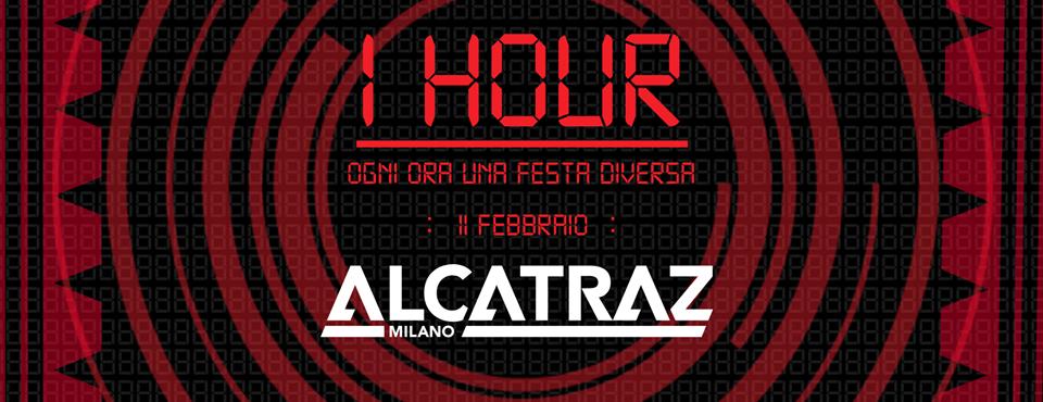 1 Hour ad Alcatraz Milano