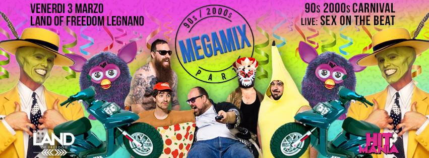 Megamix 90s Carnival al Land of Freedom