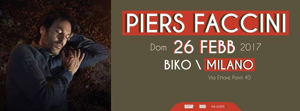 Piers Faccini al BIKO Milano