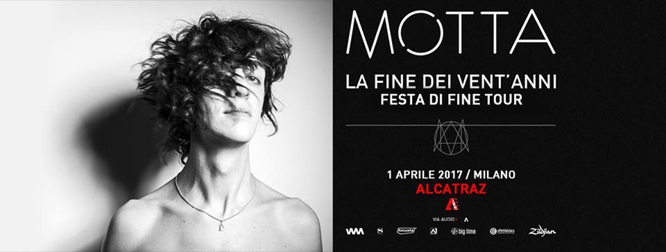 Francesco Motta ad Alcatraz Milano