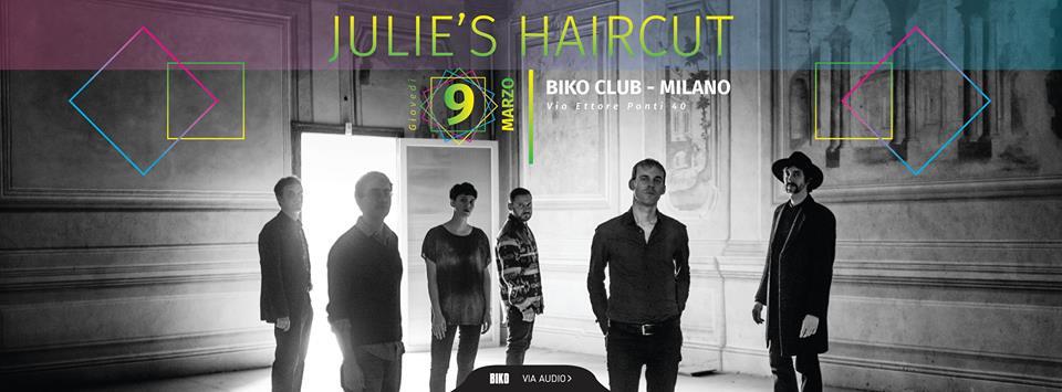 Julie's Haircut al BIKO Milano