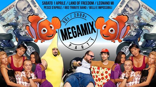 Megamix 90s Party al Land Of Freedom