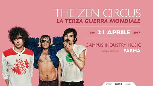 The Zen Circus al Campus Industry Music