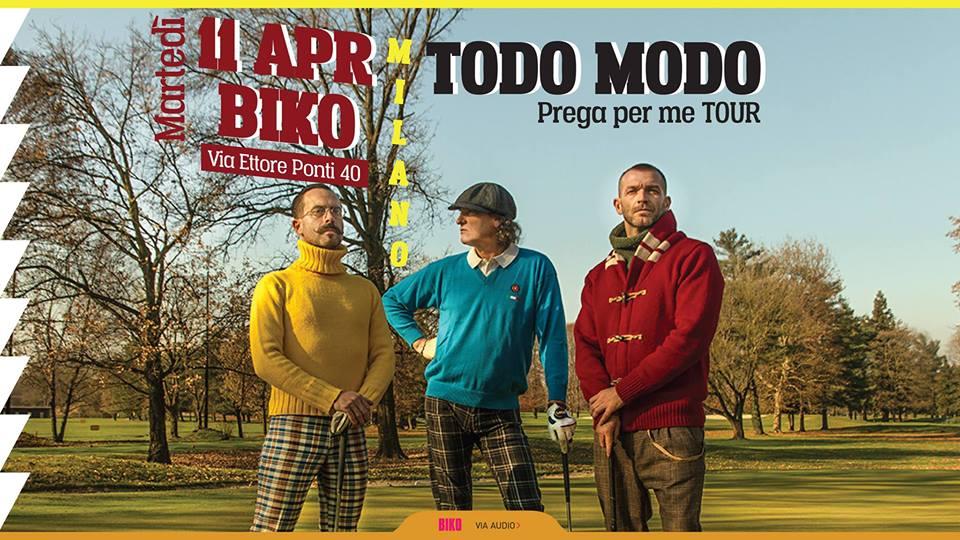 Todo Modo al Biko Milano