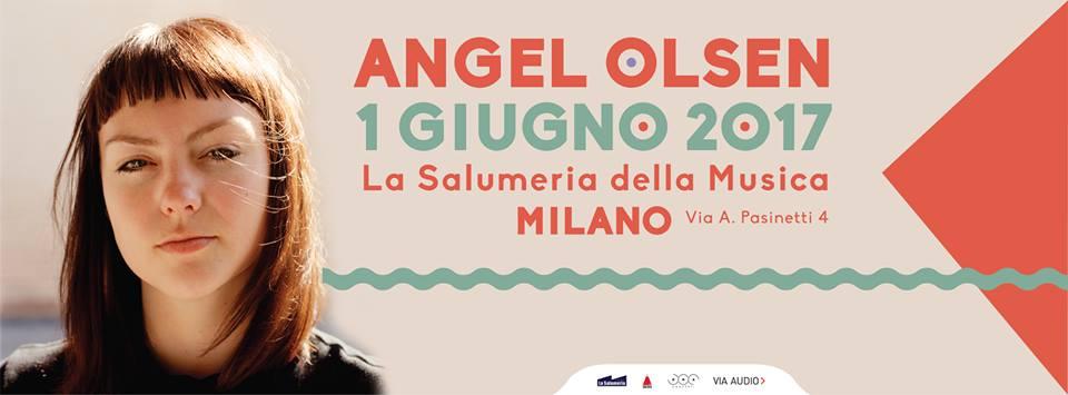 Angel Olsen a La Salumeria della Musica