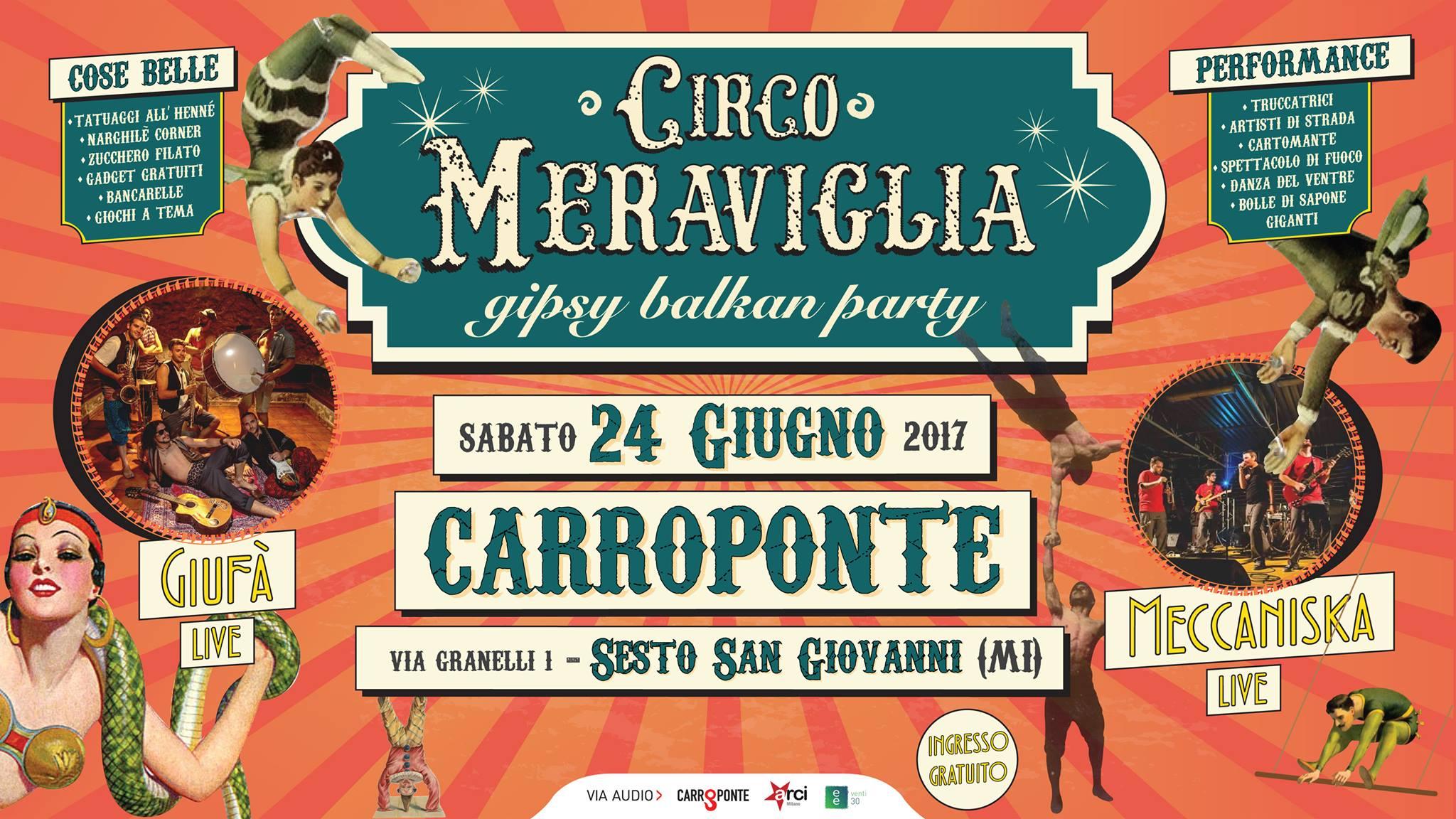 Circo Meraviglia al Carroponte