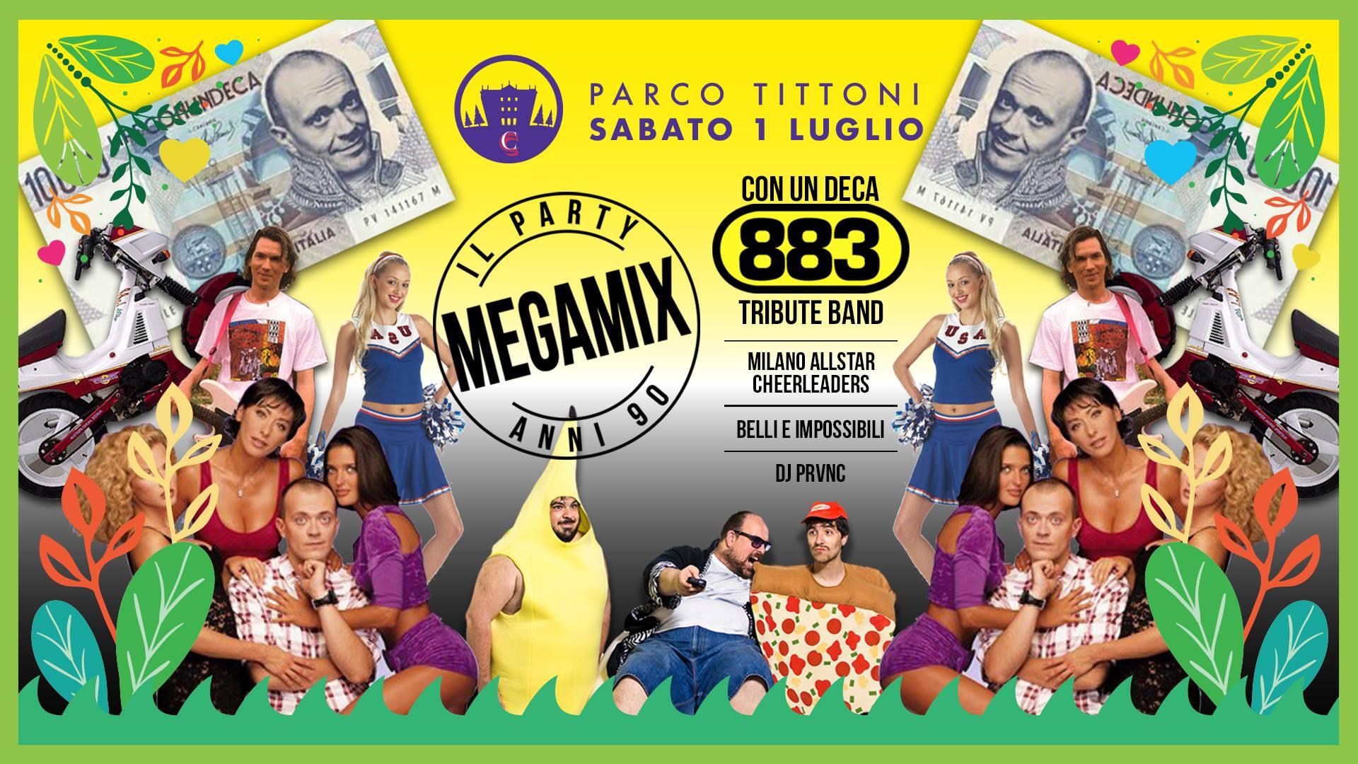 Megamix 90s Party - Parco Tittoni