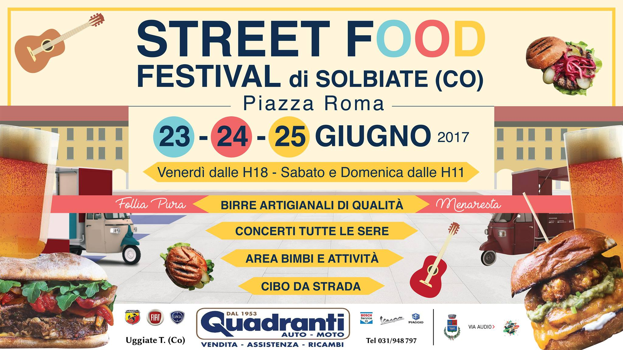 Street Food Festival di Solbiate
