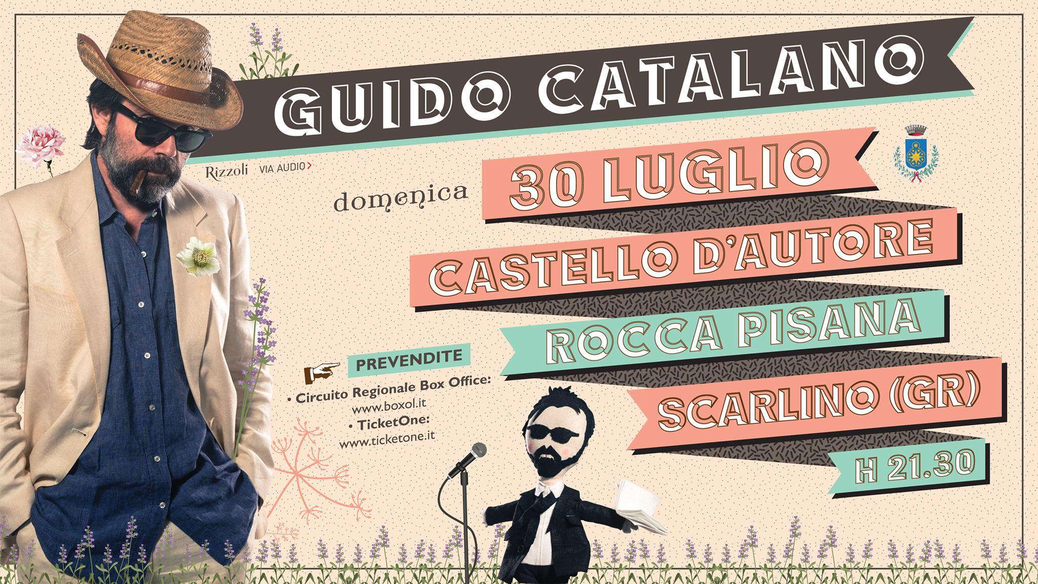 Guido Catalano al Castello d'Autore