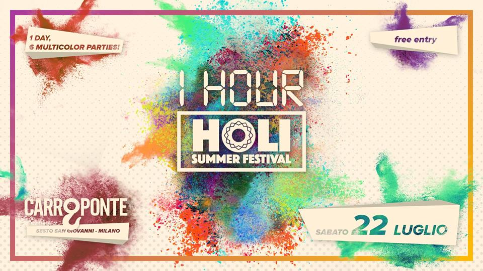 Holi e 1 Hour - CarroPonte