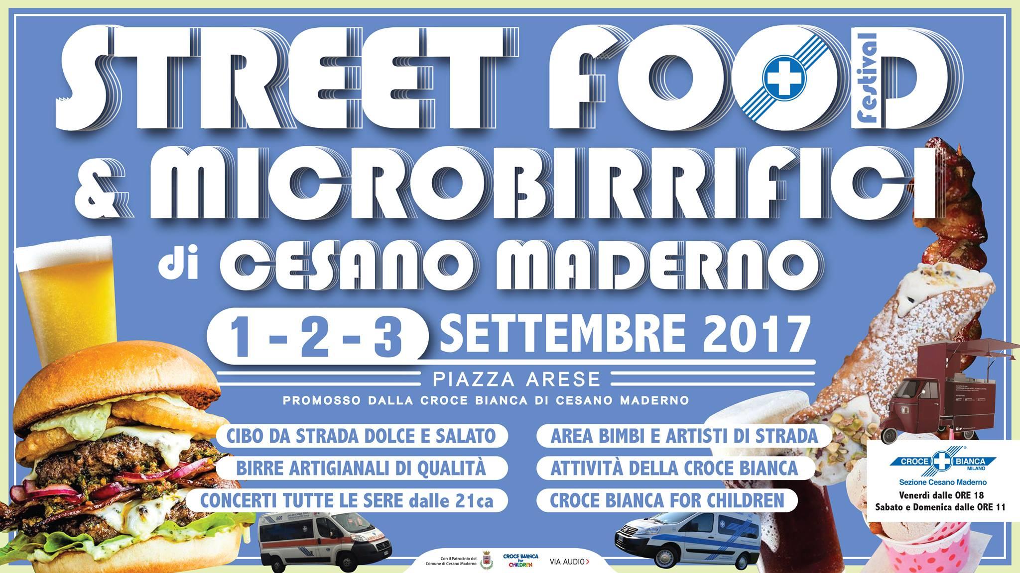 Street Food e Microbirrifici Festival CB