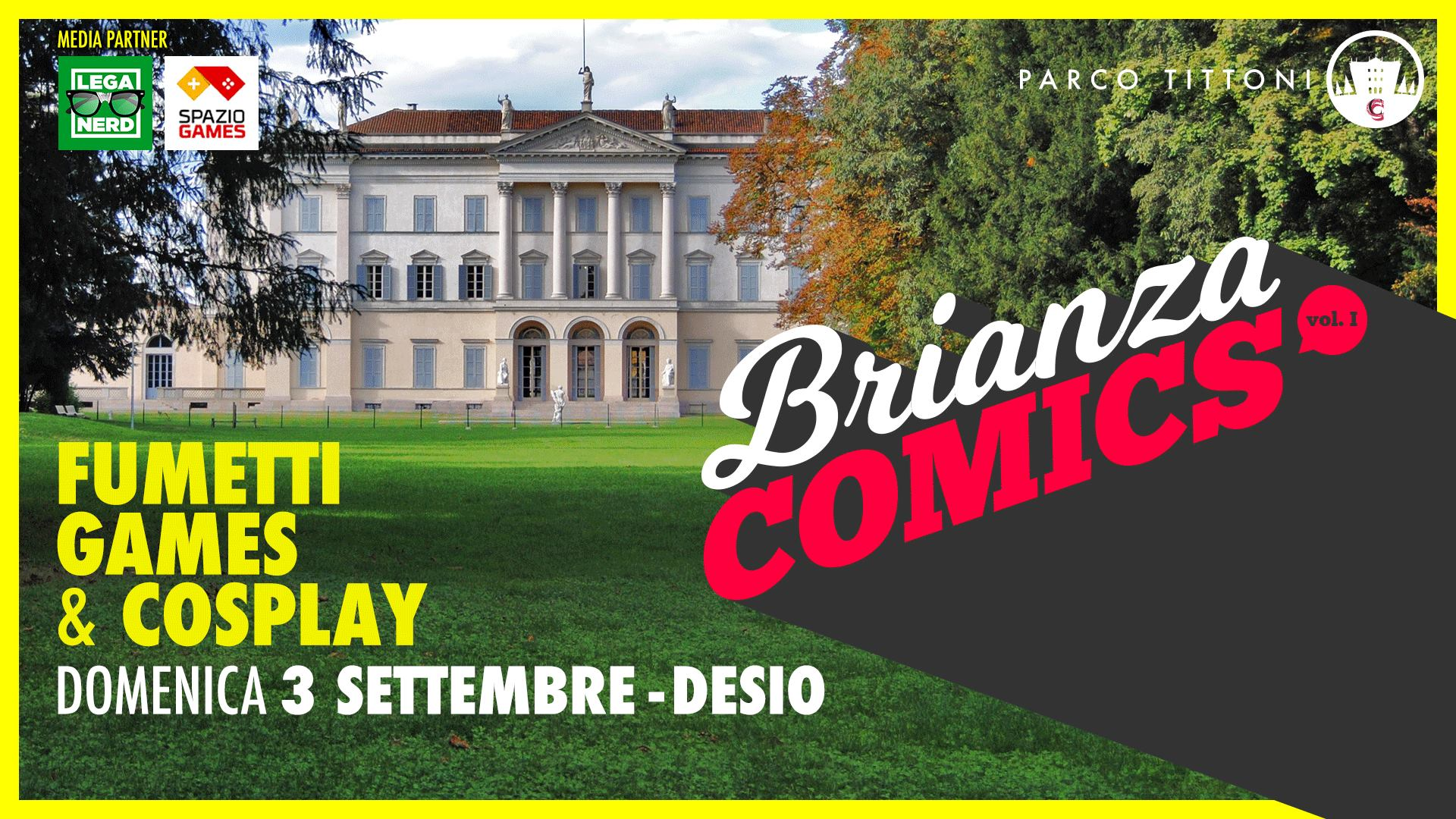 Brianza Comics a Parco Tittoni