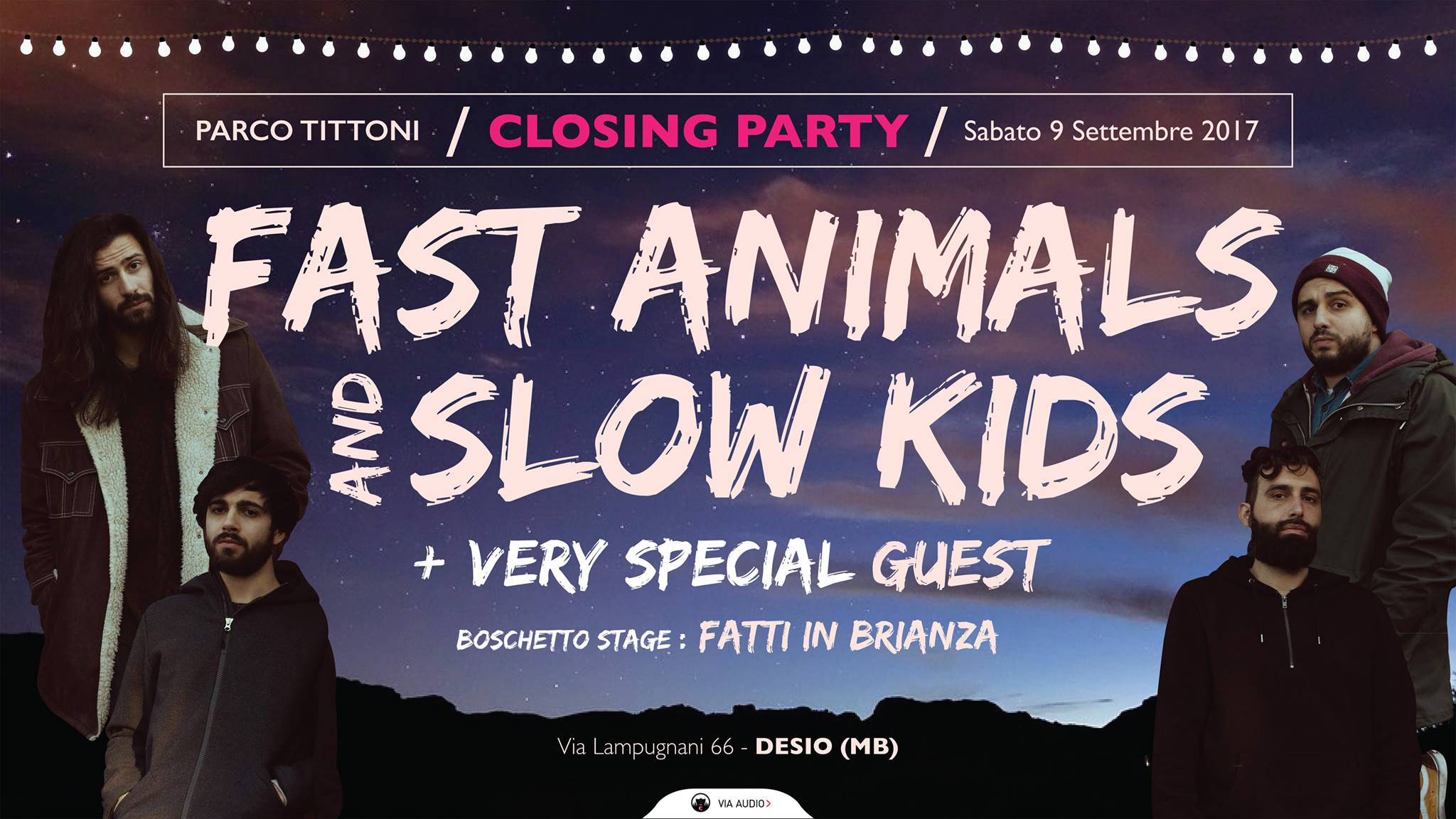 Fast Animals & Slow Kids + Guests