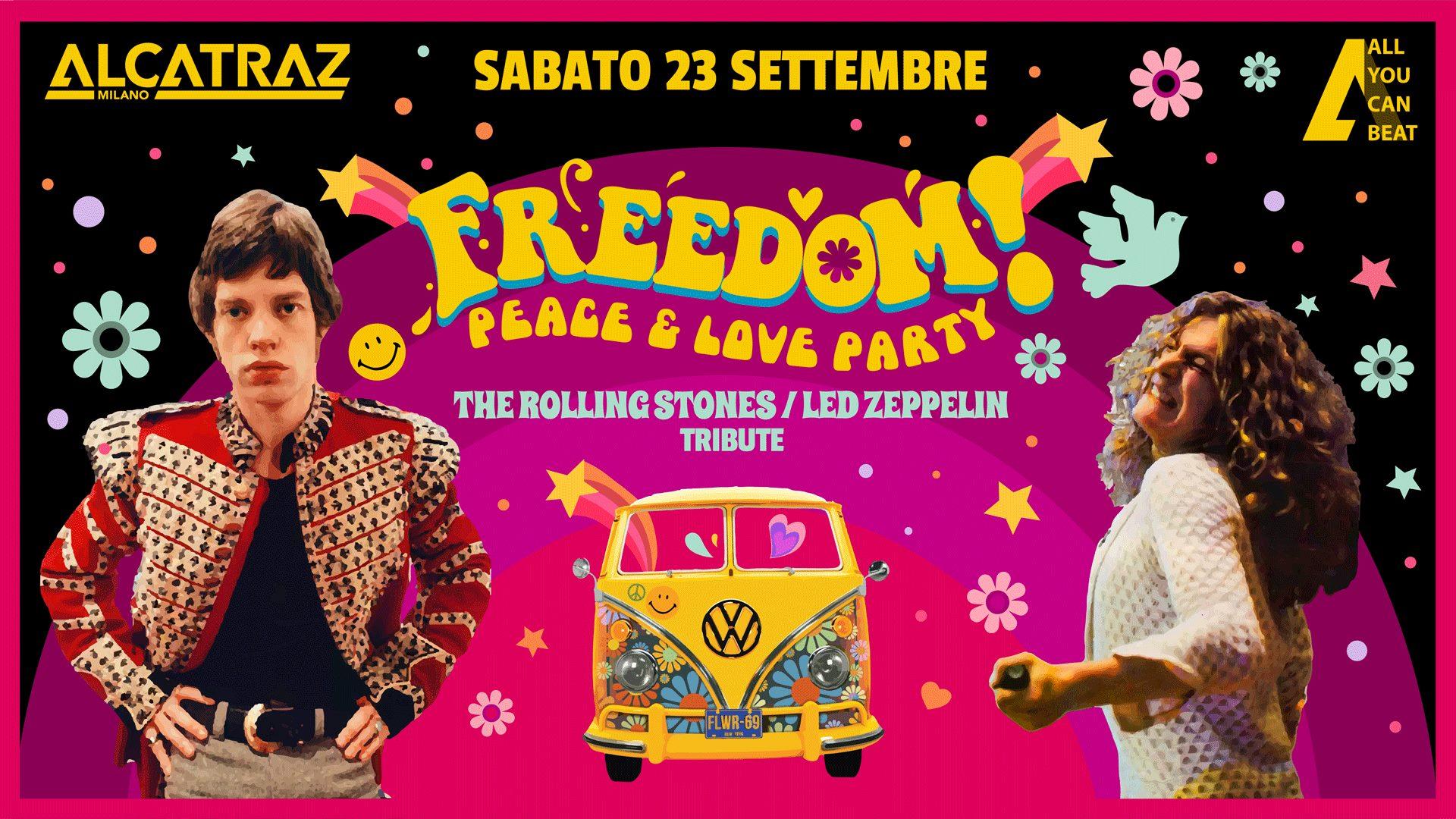 Freedom! ad Alcatraz Milano